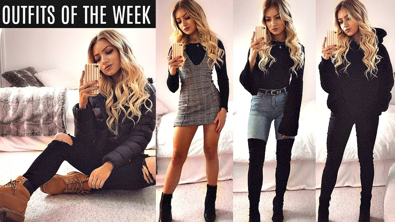 WINTER OUTFITS OF THE WEEK 2017 / EVERYDAY OUTFIT IDEAS